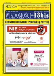 NR 735/736 WIADOMOŚCI - 43bis