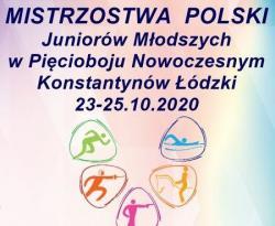 Już w piątek rozpoczęły się MP Juniorów Młodszych w pięcioboju nowoczesnym w Konstantynowie Łódzkim