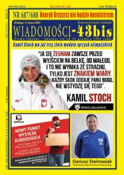 """Wiadomości - 43bis"" nr 687/688"