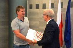 Burmistrz nagrodził sportowców