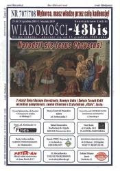 """Wiadomości - 43bis"" nr 707/708"