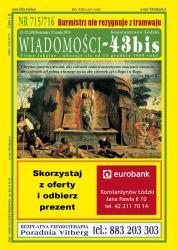 """Wiadomości - 43bis"" nr 715/716"