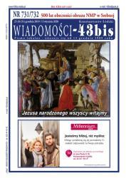 """""""Wiadomości - 43bis"""" nr 731/732 pod choinkę"""