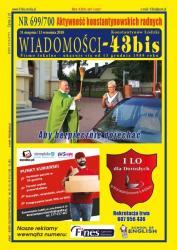"""Wiadomości - 43bis"" nr 699/700"