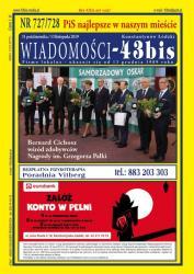 """Wiadomości - 43bis"" nr 727/728"