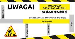 Prace na ul. Srebrzyńskiej